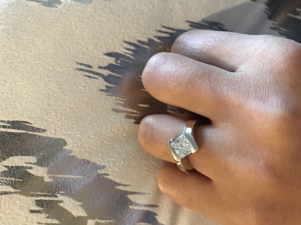 Bailey Banks Biddle Engagement Ring 12527 23 Customized Fee 2000