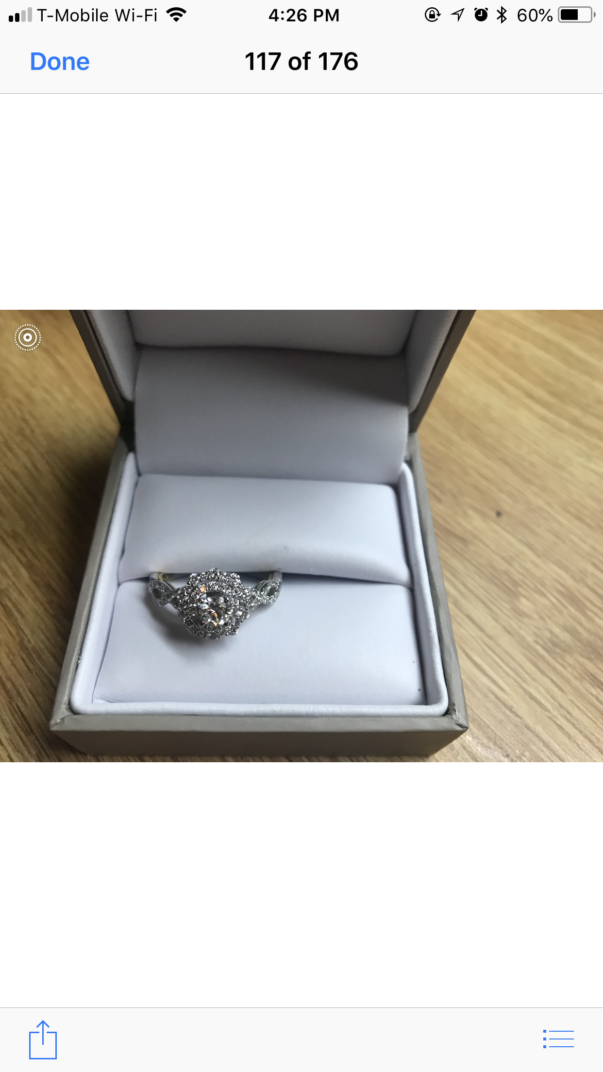 TRULY™ ZAC POSEN 7/8 CT. TW. DIAMOND DOUBLE HALO ENGAGEMENT RING IN 14