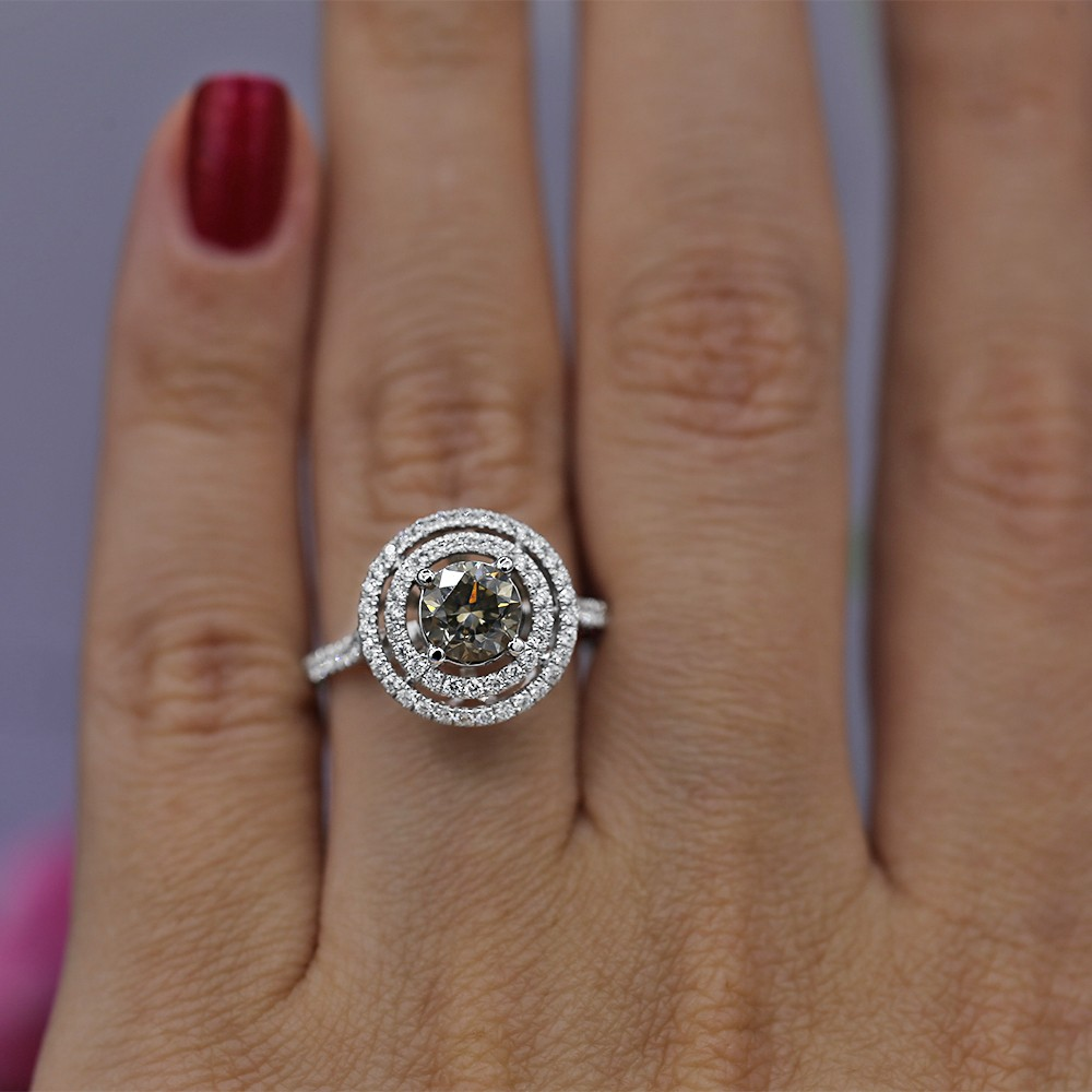 Gorgeous 1.00 CT diamond ring
