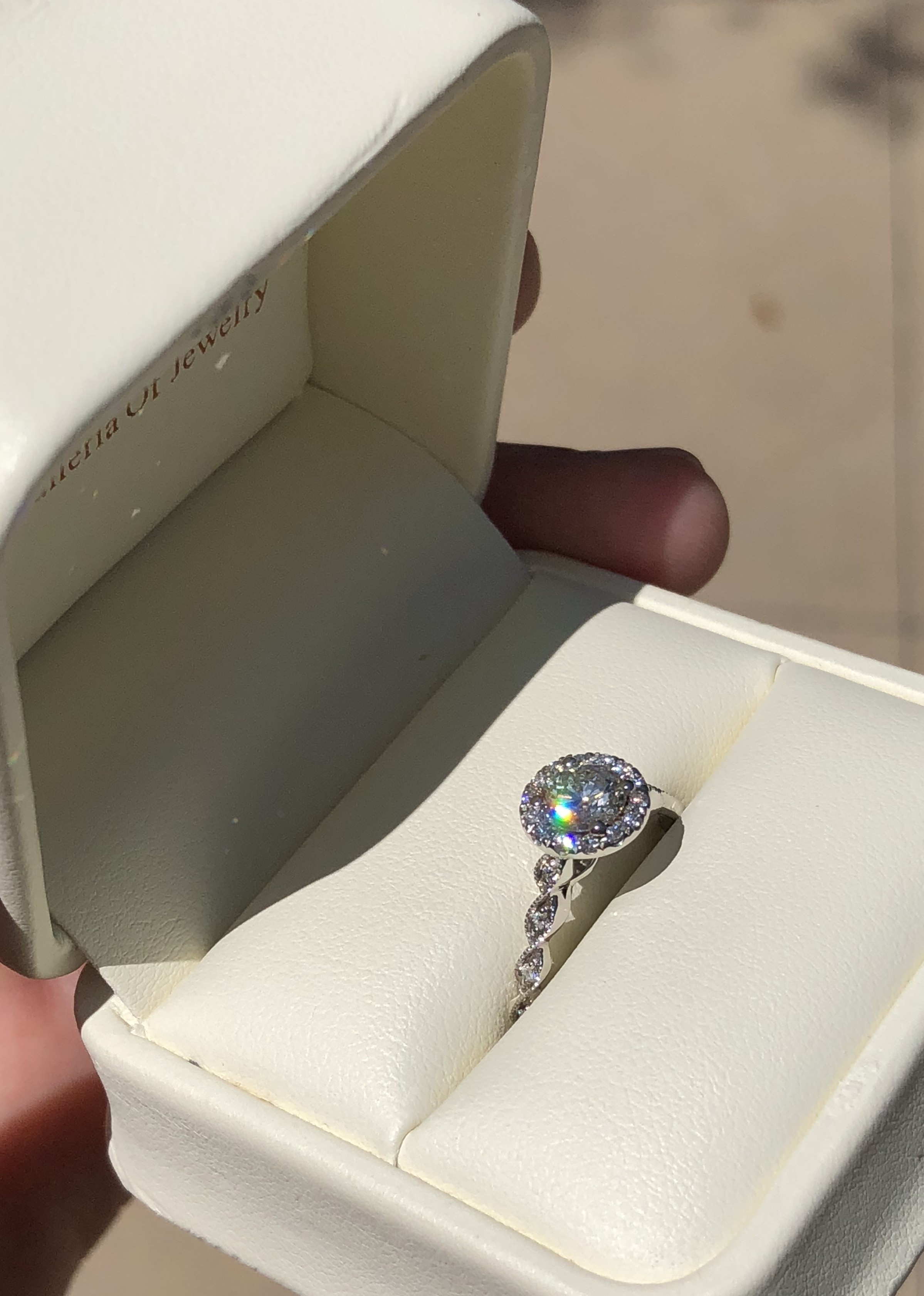 Jared, Custom Made Ring, Never Worn, Ring Size 6.5, Excellent Cut