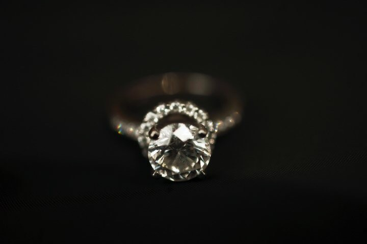 2.09 round brilliant cut diamond ring