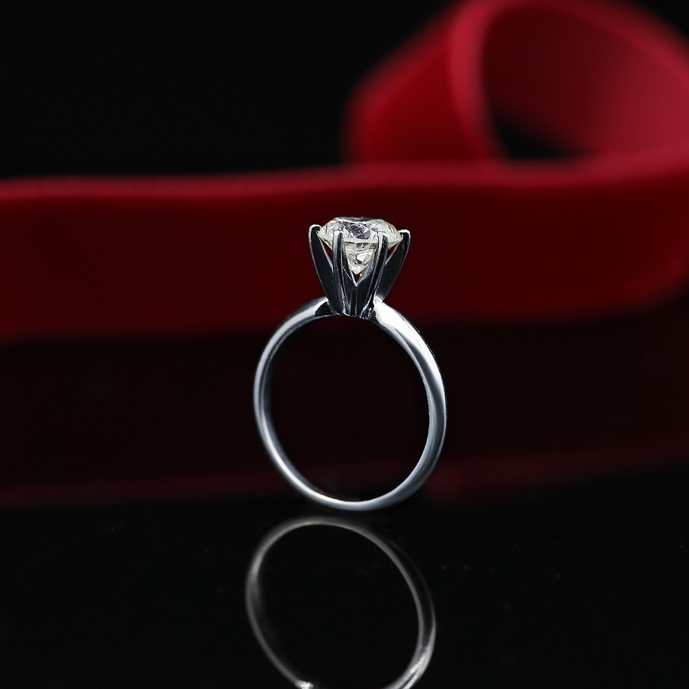 Classic White Gold Diamond Engagement Ring