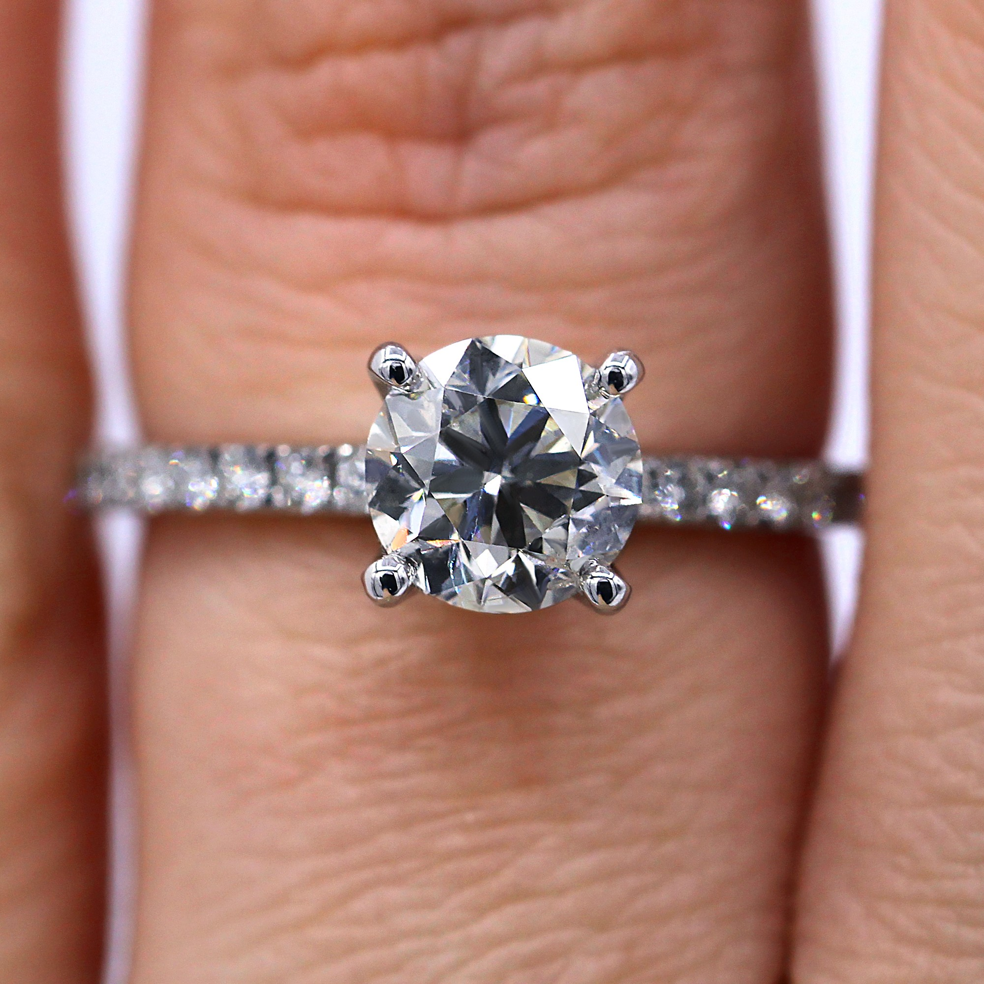 1.20 ct classic timeless engagement ring