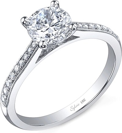 GIA 1.81 tcw 1.51 ccw Engagement Ring Platinum Band