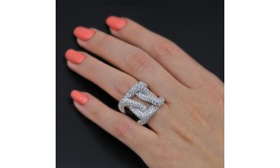 Cocktail Ring with 5.79 ct of Total Diamond Weight