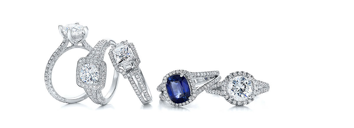 Pre-Owned Engagement rings up to 50% off retail